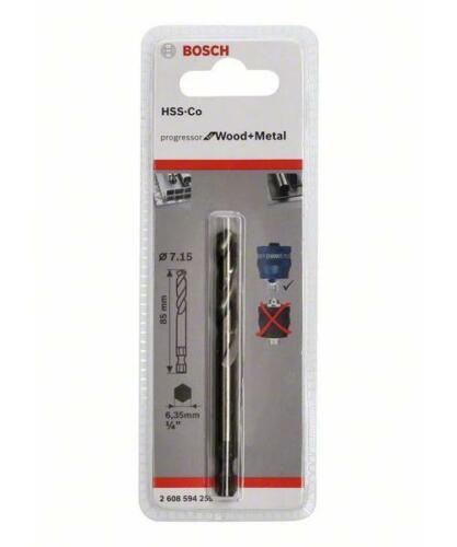 5 pcs. Bosch Forets à Centrer PLUS HSS-Co 7,15 x 85 mm