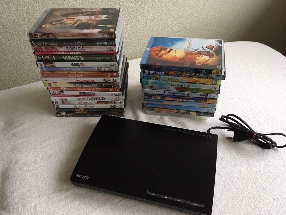 Dvd-afspiller, Sony, BDP-S185