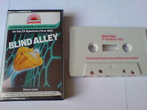 Courageux Blind Alley-sunshine-zx Spectrum 16k/48k-afficher Le Titre D'origine