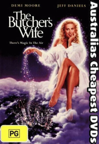 1 of 1 - The Butcher's Wife DVD NEW, FREE POSTAGE WITHIN AUSTRALIA REGION 4