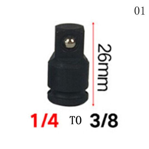 1//4 3//8 1//2 Drive Socket Adaptateur convertisseur réducteur clé à douille adaptateur Outils