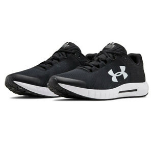 Under-Armour-Mens-Micro-G-Pursuit-BP-Running-Shoes-Trainers-Sneakers-Black
