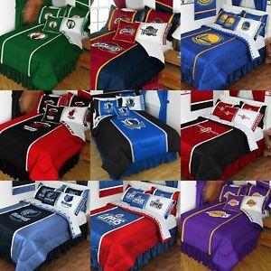 Details about NBA BASKETBALL BEDDING SET Sports Team Logo Comforter Sheets Pillowcase