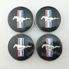 4pcs 68mm267 Inch Running Horse Pony Emblem Wheel Center Hub Cap For Mustang