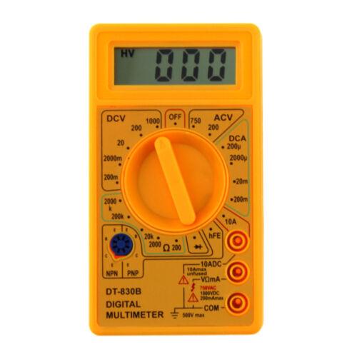 Digital Multimeter Batterietester AC//DC 750//1000V Software Kapazität Temperatur