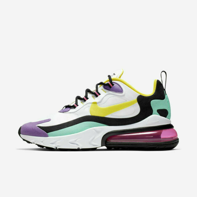 Size 8.5 - Nike Air Max 270 React Bright Violet 2019
