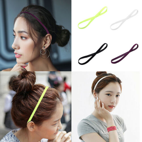 Women Yoga Sports Wash Face Makeup Towel Sweatband Headband Elastic Hair Band
