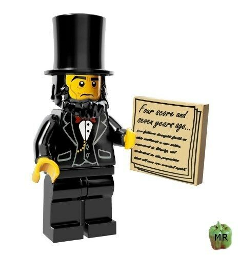 LEGO 71004 - The Lego Movie - Abraham Lincoln - Mini Figure   Minifig