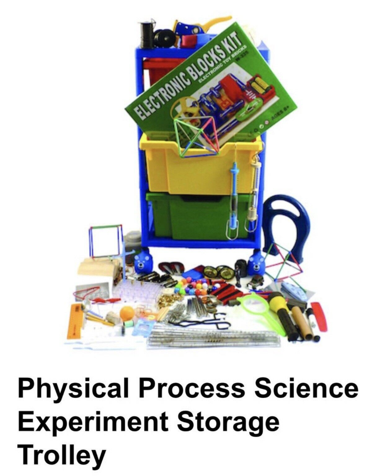 Physical Process Science Experiment Items Plus Trolley • Key Stage2(Age 7-11yrs)
