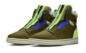 olive green nikes womens