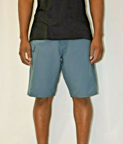 Retail $60 Volcom Men/'s Gray Blue Board Shorts