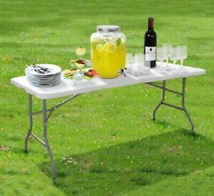 Tavoli Pieghevoli Plastica Per Catering.6ft Heavy Duty Pieghevole Tavolo Portatile In Plastica Per