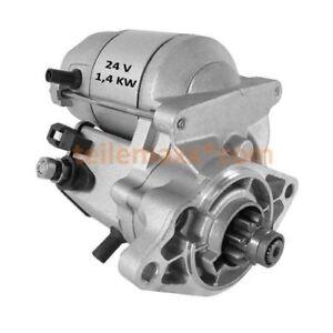 24V-Starter-Anlasser-Kubota-V1200-V800-BBS-Omme-Lift-128000-5411-16617-63011