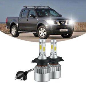 For Nissan Navara D22 55w Super White High//Low//LED Side Light Headlight Bulbs