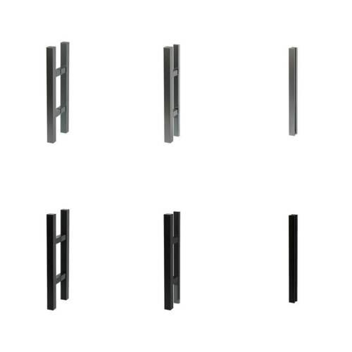 LEVIDOR Cubus Glasschiebetür Berlin Glastür SoftClose Stossgriff EX1SXGE