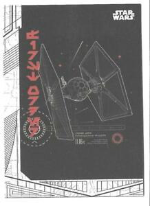 2017 Topps Star Wars The Last Jedi Blueprints and Schematics BP-5 ...