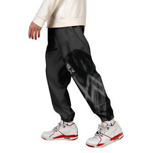 Mens-3D-Print-Color-Block-Cargo-Pants-Joggers-Pants-Trousers-009-XL