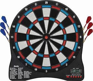 Soft Tip Electronic Dart Board Game Fat Cat Darts Viper Sport Lcd