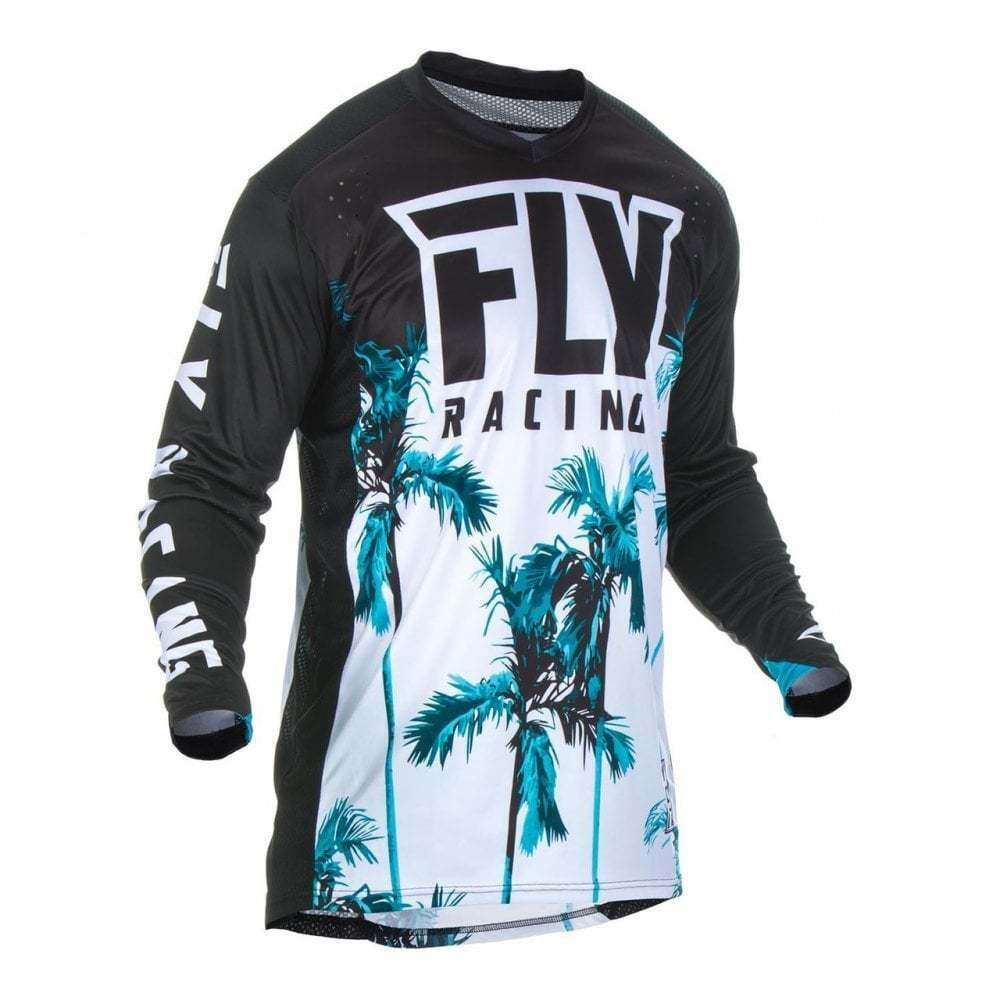 Fly Racing 2019 Adults  Lite Hydrogen Motocross Off Road Jersey - Paradise Teal  up to 60% discount