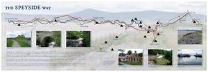 Speyside Way Map