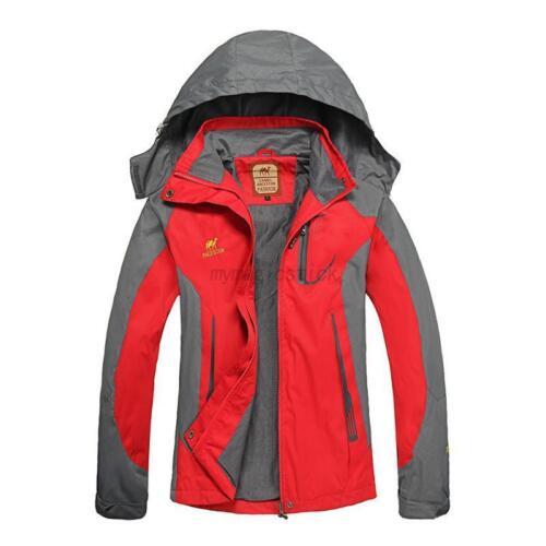 Women Softshell Jacket Waterproof Breathable Outdoor Camping Trekking Hiking