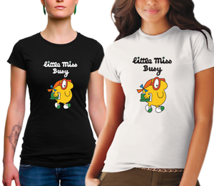 LADIES-Little-Miss-Busy-Tshirt-cotton
