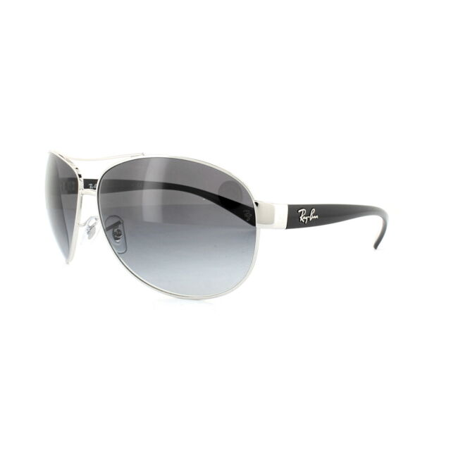 a099de38a7 Ray-Ban Unisex Rb3386 003/8g Silver Pilot Sunglasses for sale online ...