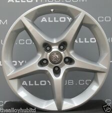 "GENUINE VAUXHALL ASTRA H/ZAFIRA B 18""INCH PENTA 5 SPOKE ALLOY WHEELS X4"