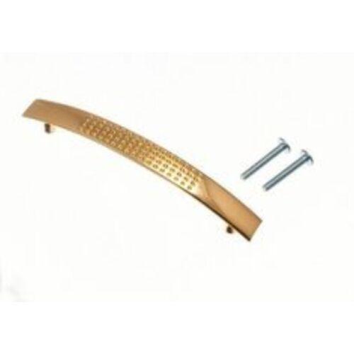 Brass Kitchen Cabinet Dimple Pull Door D Handle 96mm