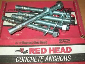 Ramset redhead anchors