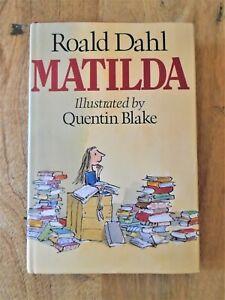 1ST / 1ST EDITION MATILDA FIRST PRINT 1988. QUENTIN BLAKE & ROALD DAHL (THE BFG)