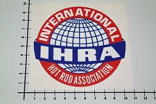 IHRA INTERNATIONAL HOT ROD ASSOCIATION Aufkleber Sticker V8 Style Drag JDM Mi154