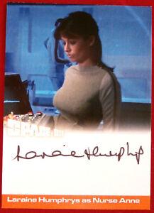 SPACE-1999-LARAINE-HUMPHRYS-as-Nurse-Anne-AUTOGRAPH-CARD-Unstoppable-2018