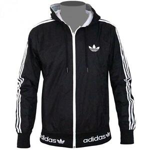 adidas kapuzenjacke schwarz weiß