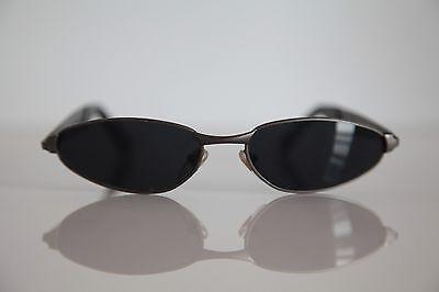 Vintage Steel Metal Gray, Dark Silver frame,  Dark Lenses