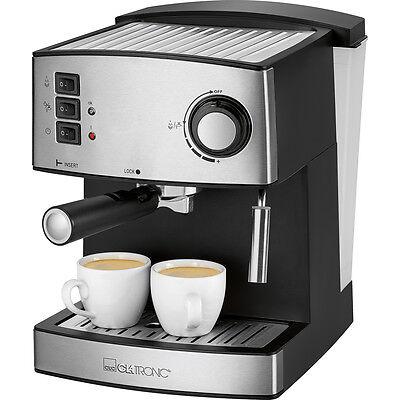 Cafetera Expresso 15 bares con espumador vapor leche 1/2 tazas cafe espresso