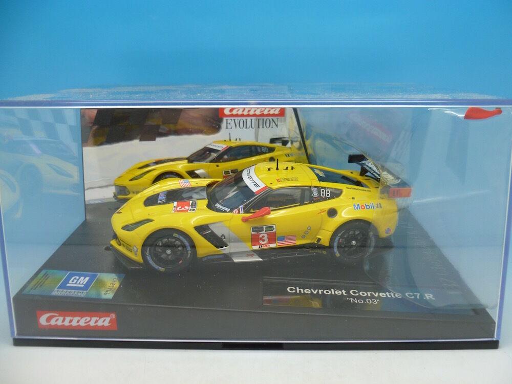 Carrera 20027469 chevrolet corvette C7.R mint boxed inutilisé