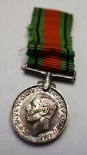 KING GEORGE VI -- THE DEFENCE MEDAL  -- WW I