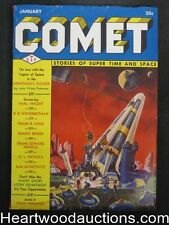 Comet Jan 1941 Frank Paul Cover - High Grade