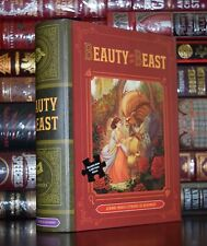 Beauty and the Beast Illustrated Brand New  Book and Puzzle Box Gift  Set