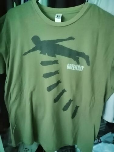 Green day 2004 missile ala talking heads military