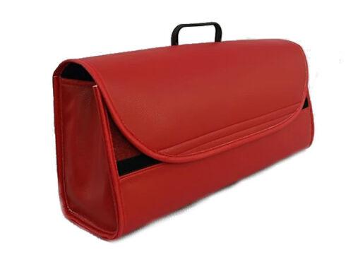 AUTO Van camion Boot in pelle rossa ordinato strumento di Storage Bag