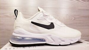 Nike Women S Air Max 270 React White Black Fashion Sneakers Ci3899