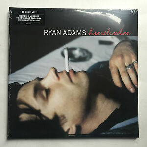 RYAN-ADAMS-HEARTBREAKER-LP-VINYL-MINT-FREE-P-amp-P-UK-2LP-180-GRAM-GAT-CODE