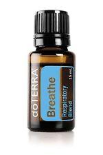 doTERRA:  BREATHE Respiratory oil Aroma or Topical   New Sealed 15ml