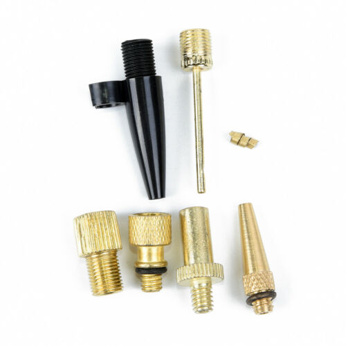 6x//set Inflatable Needle Nozzle Air Valve Adapter Pump For Sport Ball Bike Tire