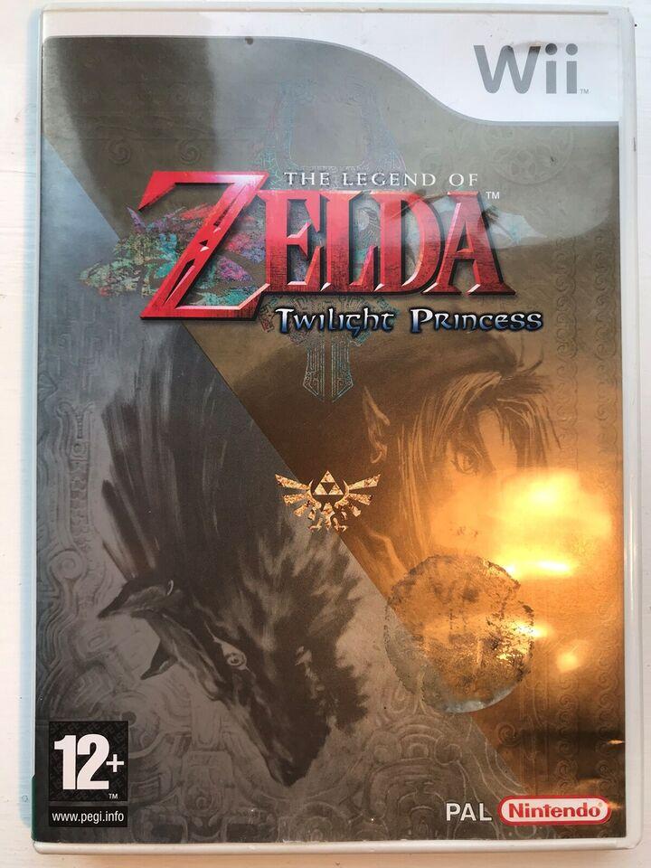 The legend of Zelda - Twilight Princess, Nintendo Wii,