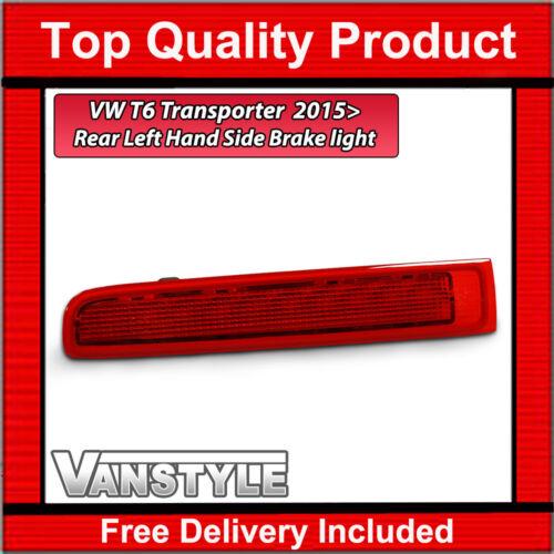 VW T6 TRANSPORTER 2015/> GENUINE VW OE REAR TWIN DOOR HIGH LEVEL BRAKE LIGHT LEFT