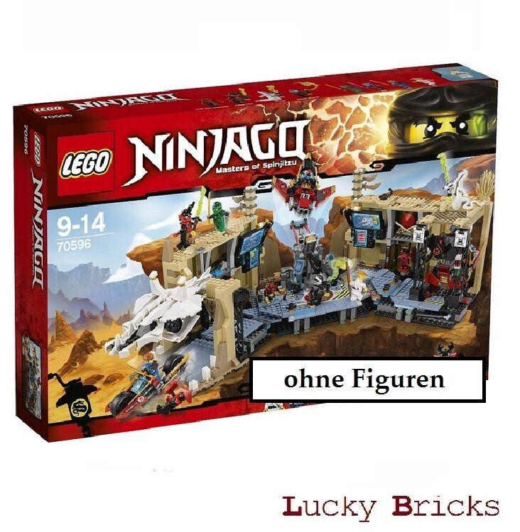 LEGO Ninjago - 70596 Samurai X Höhlenchaos  + OHNE FiGUREN  passt zu 70605 70594