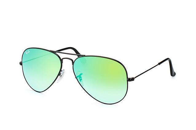 e9cba80389 Ray-Ban Men s 0rb3025 Aviator Sunglasses Shiny Black 4j 55 Mm